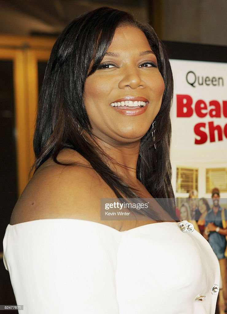 Actress Queen Latifah Arrives At The Premiere Of MGMs Beauty Shop National