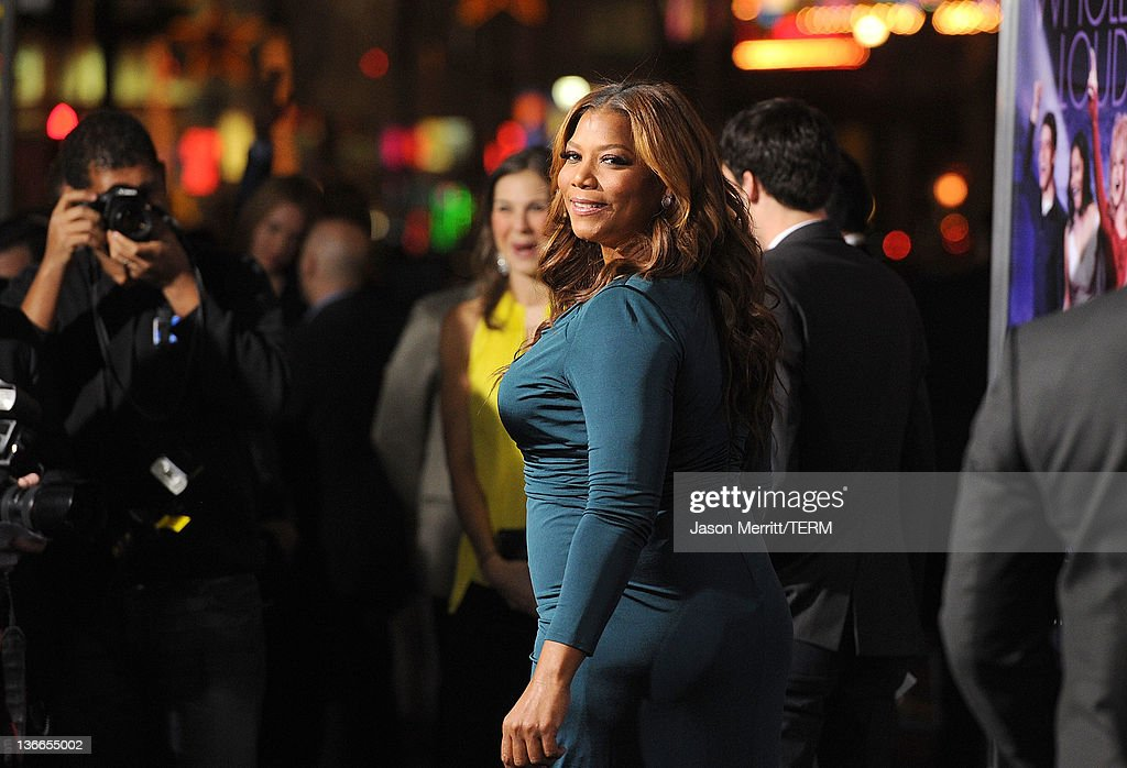 Actress Queen Latifah arrives at the premiere of Warner Bros. Pictures' 'Joyful Noise' held at Grauman's Chinese Theatre on January 9, 2012 in Hollywood, California.