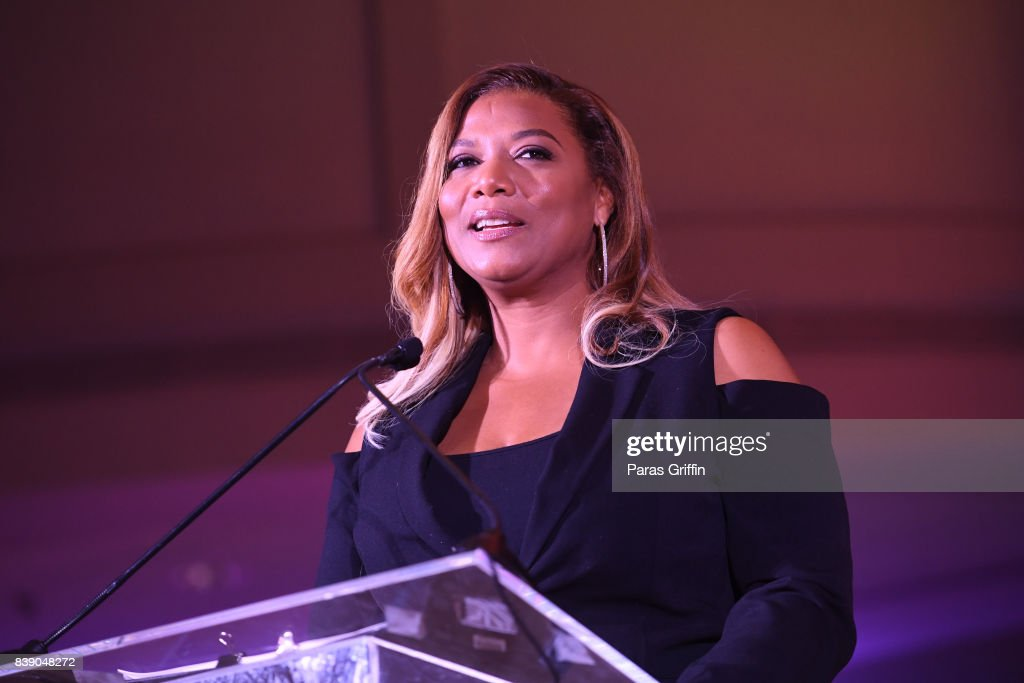 Actress Queen Latifah at 2017 BronzeLens Film Festival Women SuperStars Luncheon at Westin Peachtree Plaza on August 25, 2017 in Atlanta, Georgia.