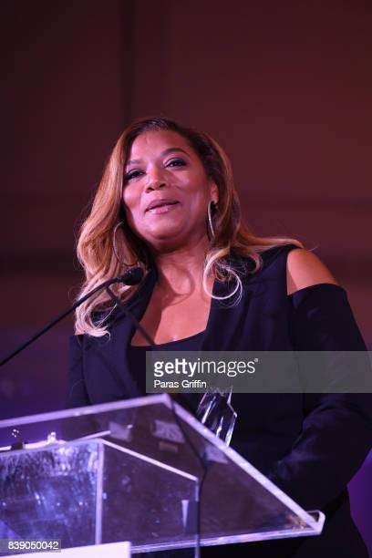 Actress Queen Latifah at 2017 BronzeLens Film Festival Women SuperStars Luncheon at Westin Peachtree Plaza on August 25 2017 in Atlanta Georgia