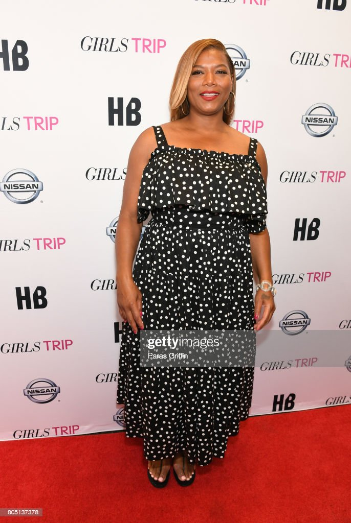 Actress Queen Latifah at 'Girls Trip' New Orleans screening at Theatres at Canal Place on June 30, 2017 in New Orleans, Louisiana.