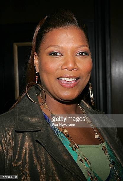 """Actress Queen Latifah attends a special screening of """"Ice Age: The Meltdown"""" presented by Twentieth Century Fox and NBA Cares at the Ziegfeld Theatre..."""