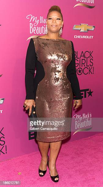 Actress Queen Latifah attends Black Girls Rock 2013 at New Jersey Performing Arts Center on October 26 2013 in Newark New Jersey