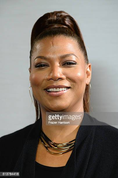 Actress Queen Latifah attends Sony Pictures Releasing's Miracles From Heaven Photo Call at The London Hotel on March 4 2016 in West Hollywood...