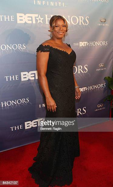 Actress Queen Latifah attends the 2nd Annual BET Honors at the Warner Theatre on January 17 2009 in Washington DC