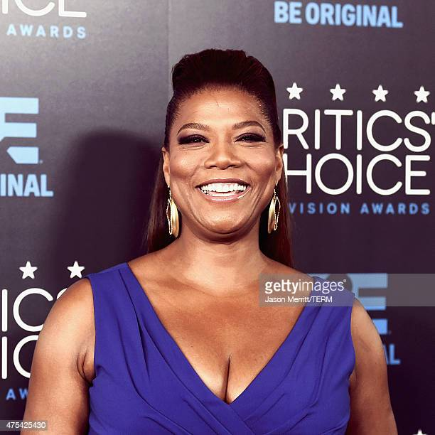 Actress Queen Latifah attends the 5th Annual Critics' Choice Television Awards at The Beverly Hilton Hotel on May 31 2015 in Beverly Hills California
