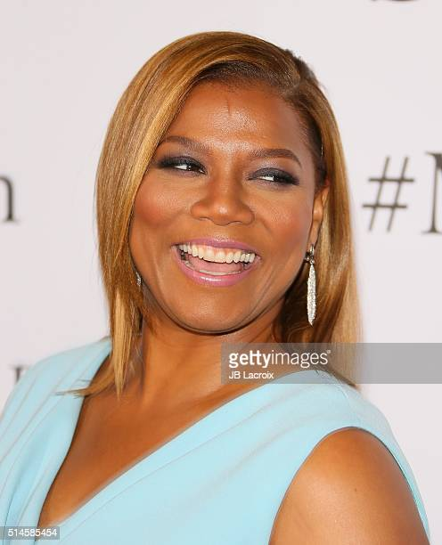Actress Queen Latifah attends the premiere of Columbia Pictures' 'Miracles From Heaven' on March 9 2016 in Hollywood California