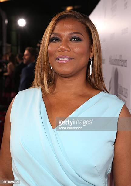 Actress Queen Latifah attends the premiere of Columbia Pictures' Miracles From Heaven at ArcLight Hollywood on March 9 2016 in Hollywood California