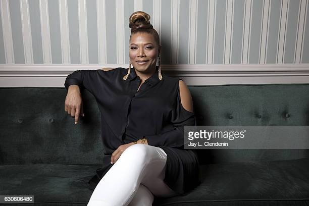 Actress Queen Latifah of FOX tv musical drama Star is photographed for Los Angeles Times on December 1 2016 in Los Angeles California PUBLISHED IMAGE...