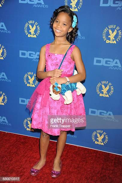 Actress Quvenzhan�� Wallis arrives at the 65th Annual Directors Guild Awards held at the Ray Dolby Ballroom at Hollywood Highland