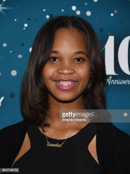 Actress Quvenzhane Wallis arrives at the Essence 10th Annual Black Women in Hollywood Awards Gala at the Beverly Wilshire Four Seasons Hotel on...