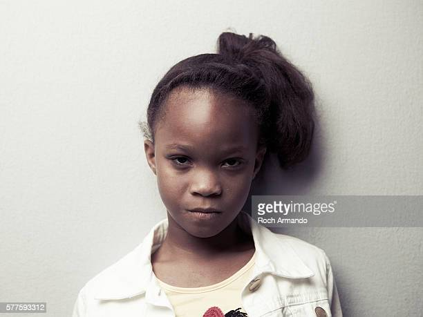 Actress Quvenzhane Wallis is photographed for Self Assignment on May 21 2012 in Cannes France