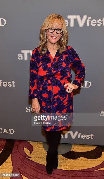 Actress Rachael Harris attends 'Lucifer' event during aTVfest 2016 presented by SCAD on February 7 2016 in Atlanta Georgia