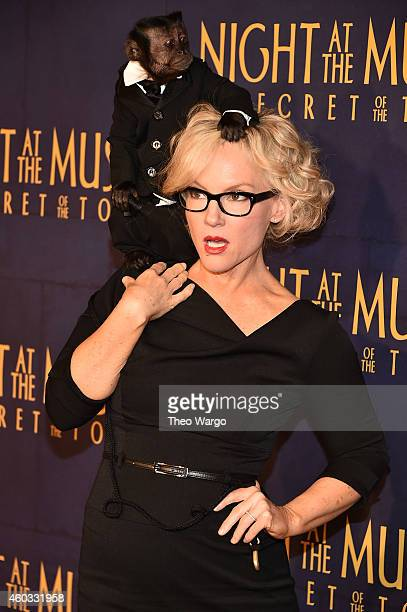 "Actress Rachael Harris attends the ""Night At The Museum: Secret Of The Tomb"" New York Premiere at Ziegfeld Theater on December 11, 2014 in New York..."