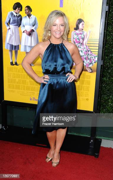 Actress Rachael Harris attends the premiere Of DreamWorks Pictures' 'The Help' held at The Academy of Motion Picture Arts and Sciences Samuel Goldwyn...