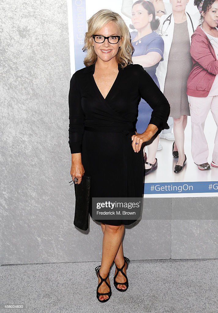 Actress Rachael Harris attends the Premiere of HBO's 'Getting On' Season 2 at the Avalon on October 28, 2014 in Hollywood, California.