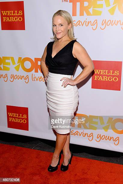 Actress Rachael Harris attends the Trevor Project's 2014 'TrevorLIVE NY' Event at the Marriott Marquis Hotel on June 16 2014 in New York City