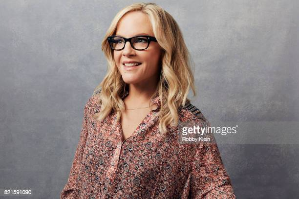 Actress Rachael Harris from Fox's 'Lucifer' poses for a portrait during ComicCon 2017 at Hard Rock Hotel San Diego on July 22 2017 in San Diego...