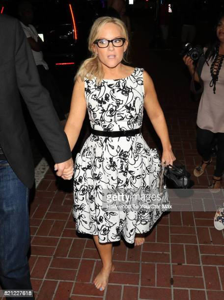 Actress Rachael Harris is seen on July 22 2017 at Comic Con in San Diego CA