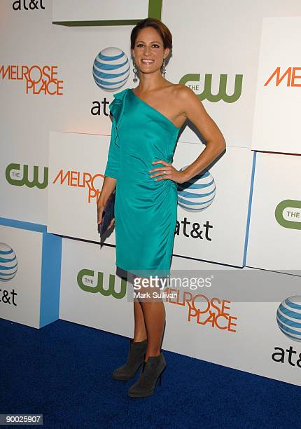 Actress Rachael Kemery arrives at the Melrose Place Los Angeles Premiere Party on August 22 2009 in Los Angeles United States