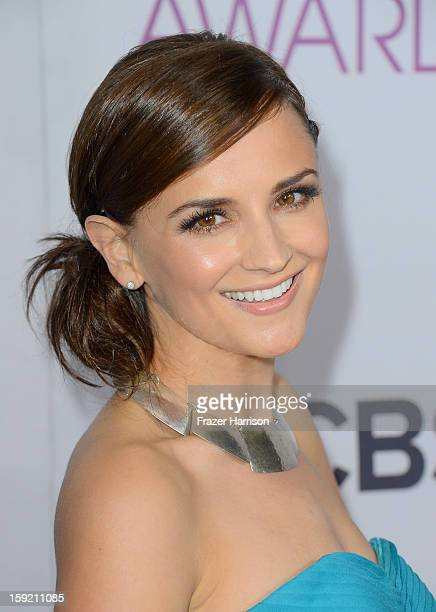 Actress Rachael Leigh Cook attends the 39th Annual People's Choice Awards at Nokia Theatre LA Live on January 9 2013 in Los Angeles California