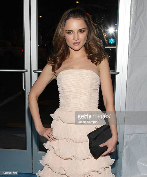 Actress Rachael Leigh Cook attends the Creative Coalition's 2009 Inaugural Ball at the Harman Center for the Arts on January 20 2009 in Washington DC