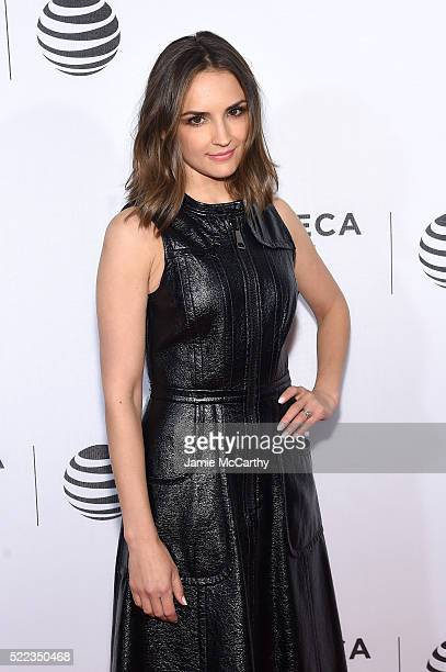 Actress Rachael Leigh Cook attends the 'Elvis Nixon' Premiere during the 2016 Tribeca Film Festival at BMCC John Zuccotti Theater on April 18 2016 in...