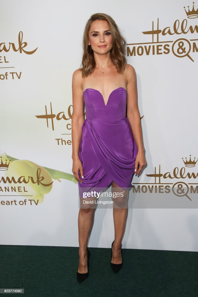 Actress Rachael Leigh Cook attends the Hallmark Channel and Hallmark Movies and Mysteries 2017 Summer TCA Tour on July 27, 2017 in Beverly Hills, California.