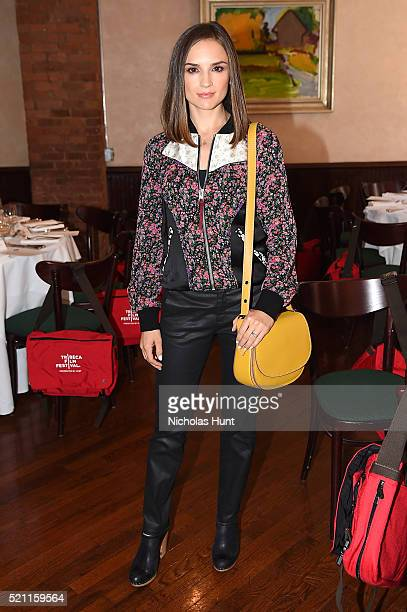 Actress Rachael Leigh Cook attends the Juror Welcome Lunch 2016 Tribeca Film Festival on April 14 2016 in New York City