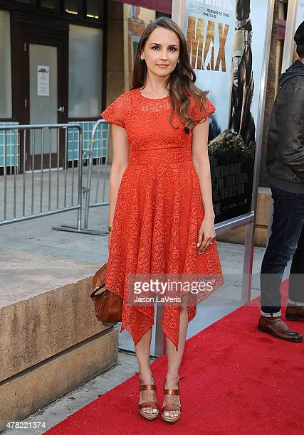 Actress Rachael Leigh Cook attends the premiere of MAX at the Egyptian Theatre on June 23 2015 in Hollywood California