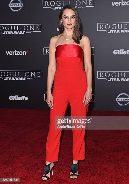 Actress Rachael Leigh Cook attends the premiere of 'Rogue One A Star Wars Story' at the Pantages Theatre on December 10 2016 in Hollywood California