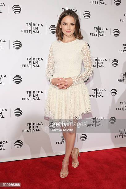 Actress Rachael Leigh Cook attends the Tribeca Film Festival Awards during 2016 Tribeca Film Festival at 42 W NY on April 21 2016 in New York City