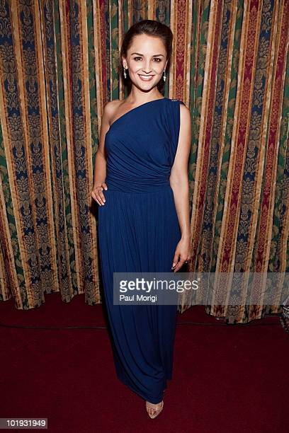 Actress Rachael Leigh Cook attends the United Nations Millennium Development Goal Five progress reception at the Cannon Building on June 9 2010 in...