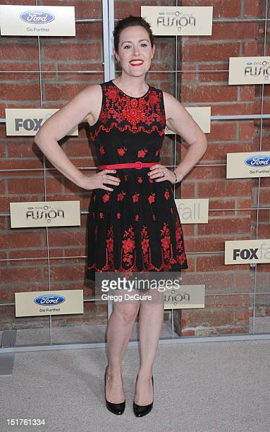 Actress Rachael MacFarlane arrives at the FOX Fall Eco-Casino party at The Bookbindery on September 10, 2012 in Culver City, California.