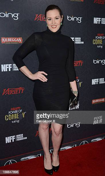 Actress Rachael MacFarlane arrives at Variety's 3rd annual Power of Comedy event presented by Bing benefiting the Noreen Fraser Foundation held at...
