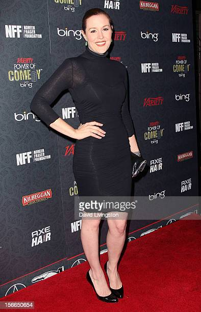 Actress Rachael MacFarlane attends Variety's 3rd Annual Power of Comedy event at Avalon on November 17, 2012 in Hollywood, California.