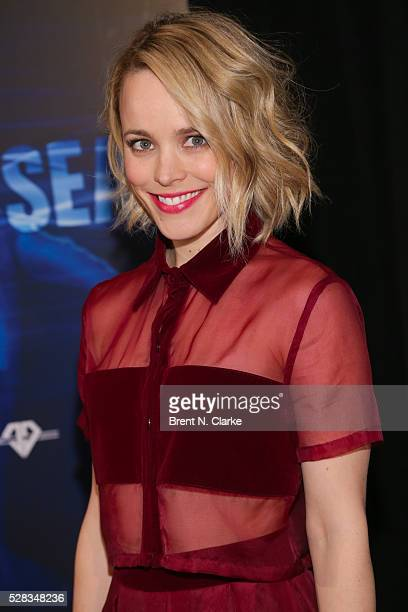 Actress Rachael McAdams hosts a screening of Sonic Sea at the Crosby Hotel on May 4 2016 in New York City