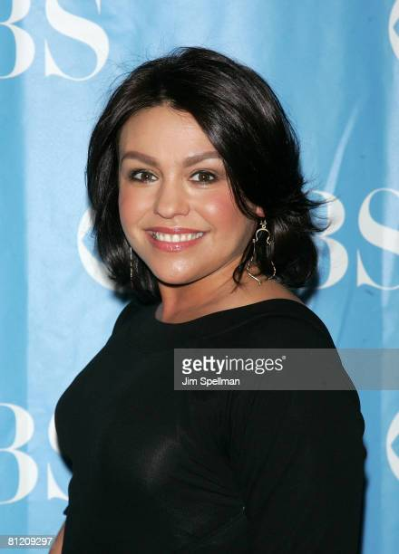 Actress Rachael Ray arrives at the 2008 CBS UpFront at Carnegie Hall on May 14 2008 in New York City
