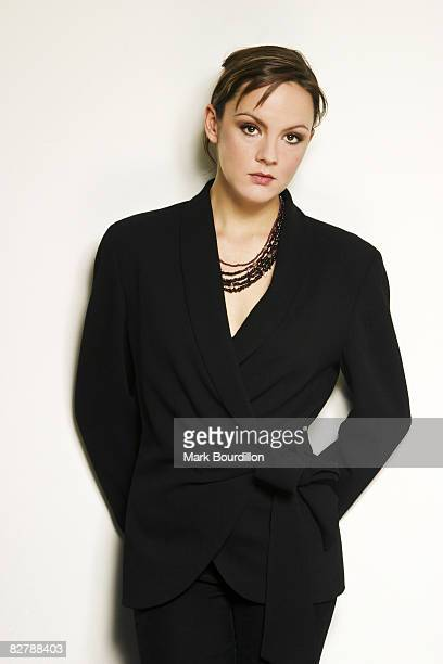 Actress Rachael Stirling poses for a portrait shoot for the Sunday Times newspaper in London on November 11 2003