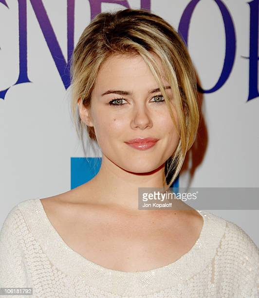 """Actress Rachael Taylor arrives at the Los Angeles Premiere """"Penelope"""" at the Directors Guild of America on February 20, 2008 in Los Angeles,..."""
