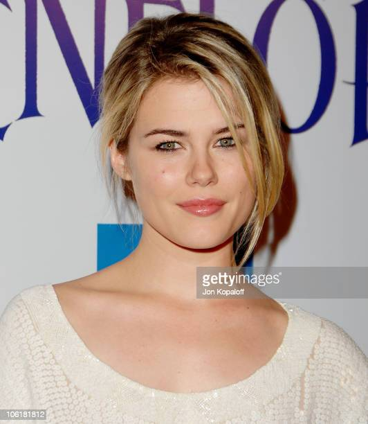 Actress Rachael Taylor arrives at the Los Angeles Premiere 'Penelope' at the Directors Guild of America on February 20 2008 in Los Angeles California