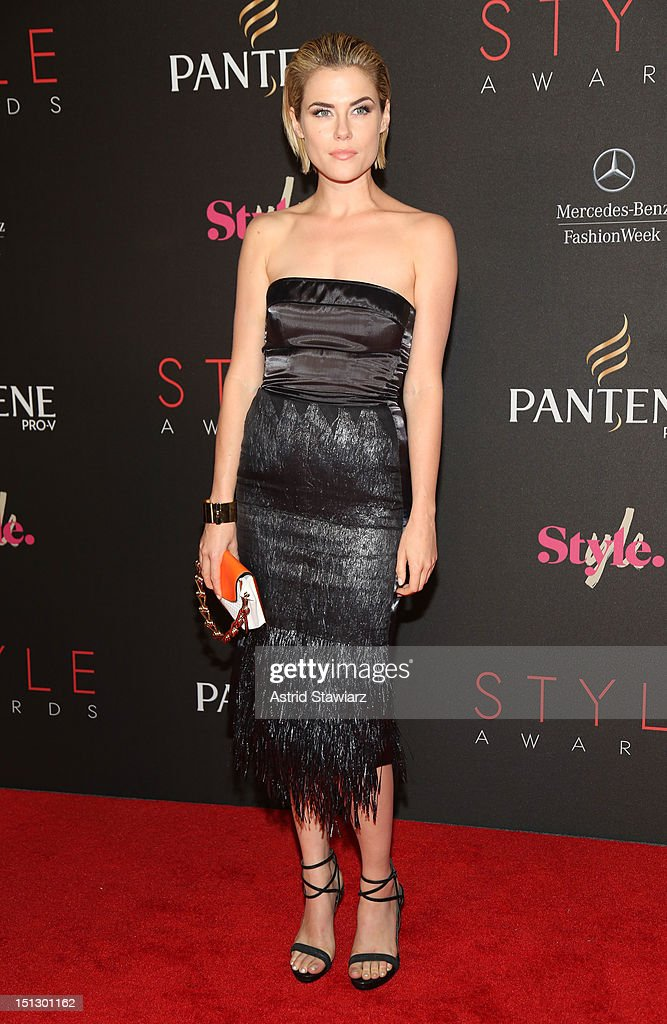 Actress Rachael Taylor attends the 9th annual Style Awards during Mercedes-Benz Fashion Week at The Stage at Lincoln Center on September 5, 2012 in New York City.