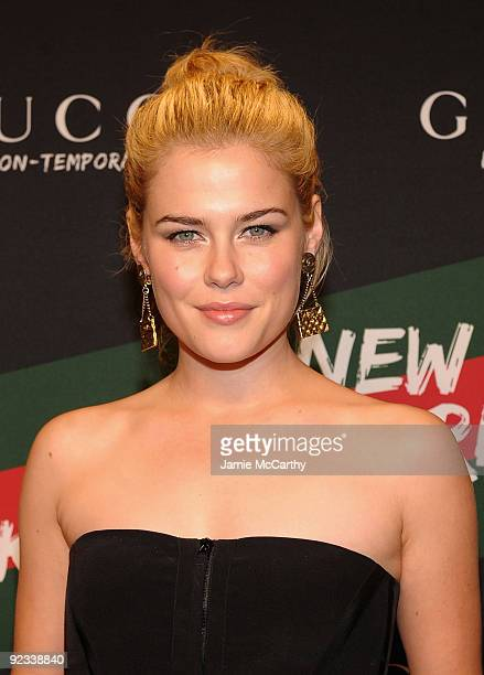 Actress Rachael Taylor attends the Gucci Icon-Temporary Flash Sneaker Store launch at the Gucci Icon-Temporary Flash Sneaker Store on October 23,...