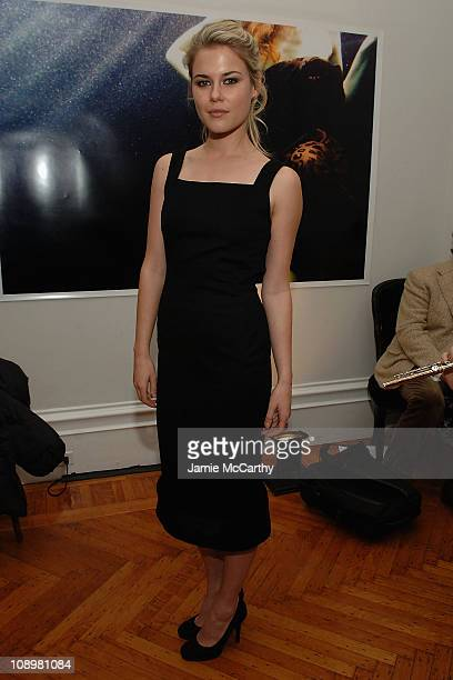 Actress Rachael Taylor attends the Jenni Kayne Fall '08 Fashion Show on February 8 2008 in New York City