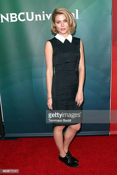 Actress Rachael Taylor attends the NBC/Universal 2014 TCA Winter Press Tour held at The Langham Huntington Hotel and Spa on January 19 2014 in...
