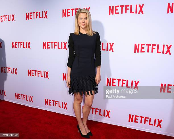 Actress Rachael Taylor attends the Netflix original series' 'Marvel's Jessica Jones' FYC screening and QA at Paramount Studios on May 3 2016 in...