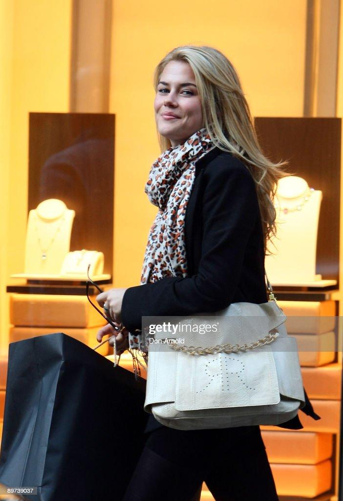 Rachael Taylor Visits Bulgari Store In Sydney