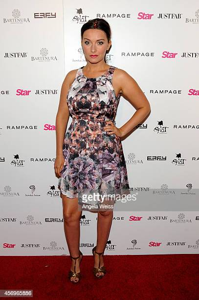 Actress Rachel Ann Mullins attends the Star Magazine Scene Stealers Event at Lure on October 9 2014 in Los Angeles California