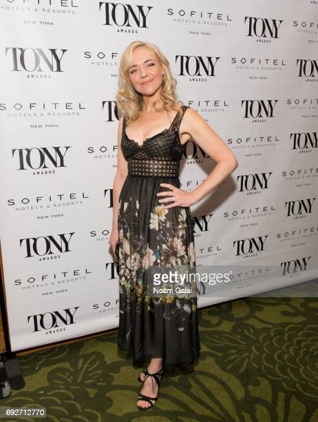 Actress Rachel Bay Jones attends the 2017 Tony Honors cocktail party at Sofitel Hotel on June 5 2017 in New York City