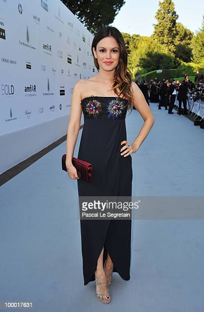 Actress Rachel Bilson arrives at amfAR's Cinema Against AIDS 2010 benefit gala at the Hotel du Cap on May 20 2010 in Antibes France